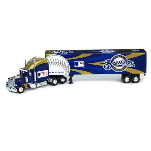(Milwaukee Brewers 2006 MLB Peterbilt Tractor Trailer)