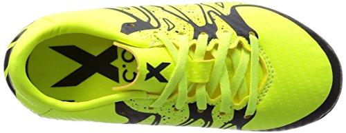 adidas X 15.3 HG J - Botas para niño Lima / Negro