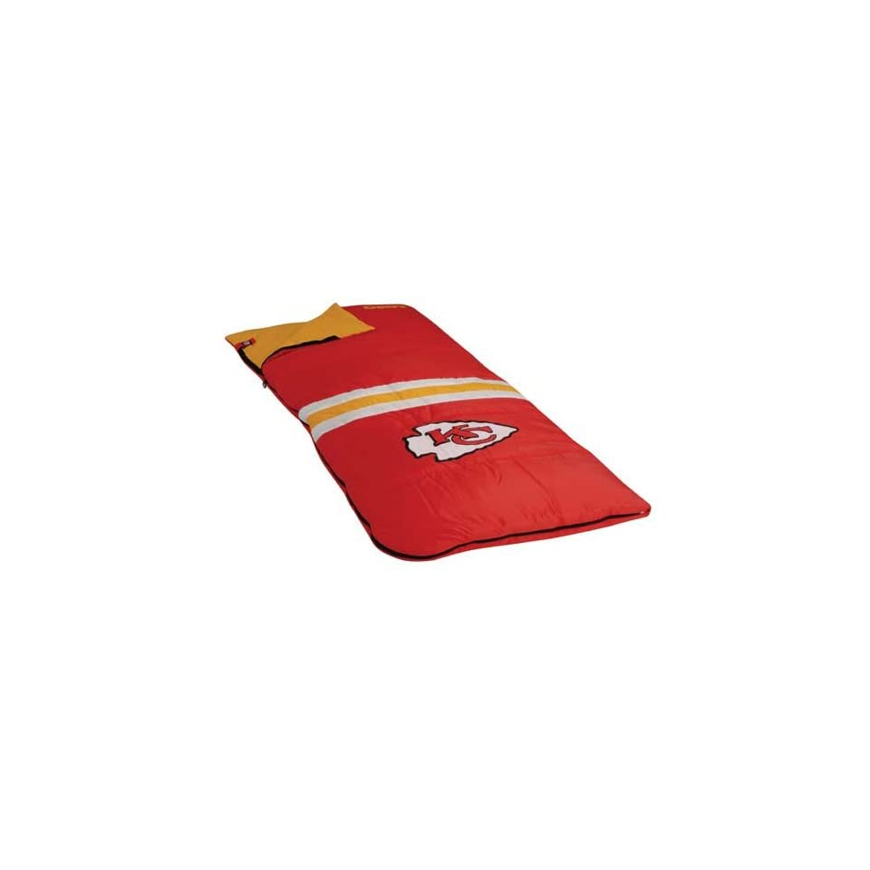 Kansas City Chiefs NFL Sleeping Bag by Northpole Ltd.
