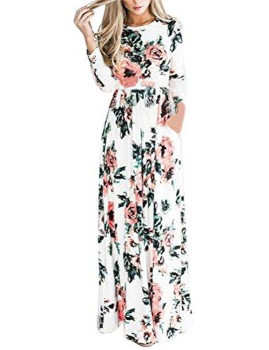 3/4 length sleeve flower girl dresses - 8