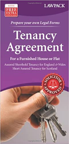 Tenancy Agreement For A Furnished House Or Flat Assured