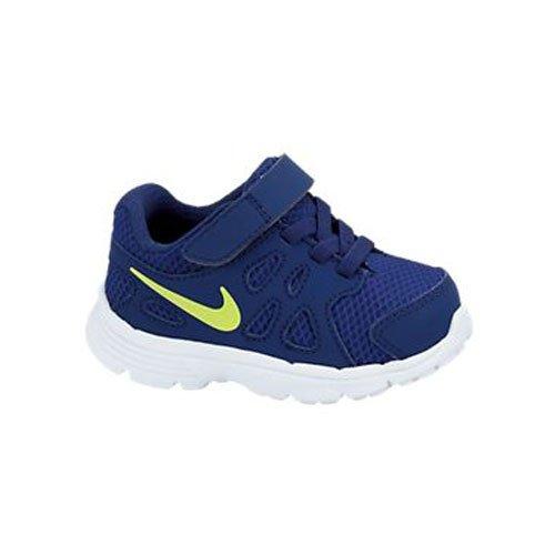 Nike, Scarpe outdoor multisport bambini blau,weiß,gelb