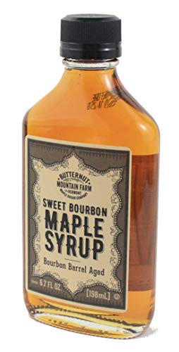 Butternut Mountain Farms Sweet Bourbon Barrel Aged Maple Syrup - 6.7 Ounce