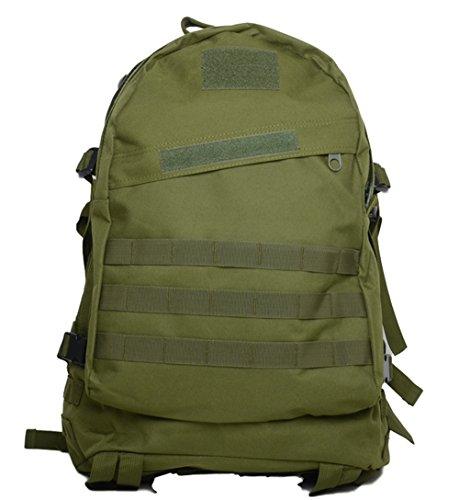 Bolsas de Camping resistente al agua MOLLE mochila militares 3P Tad Asalto Mochila Táctico Bolsa de viaje para los hombres, DCU verde