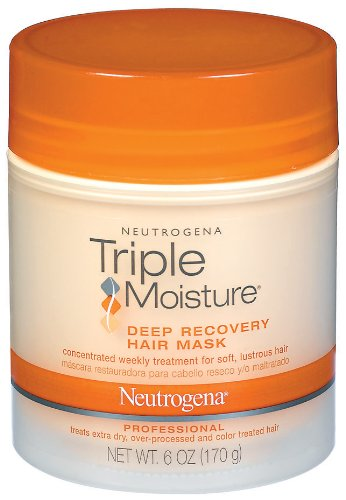 Neutrogena Triple Moisture Deep Recovery Hair Mask, 6 Ounce