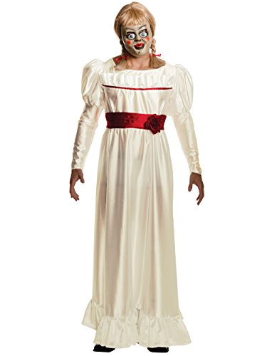 (Rubie's Men's Annabelle Horror Costume, White,)