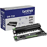 Brother Genuine Drum Unit, DR730, Seamless Integration, Yields Up to 12,000 Pages, Black (Drum unit, NOT toner)