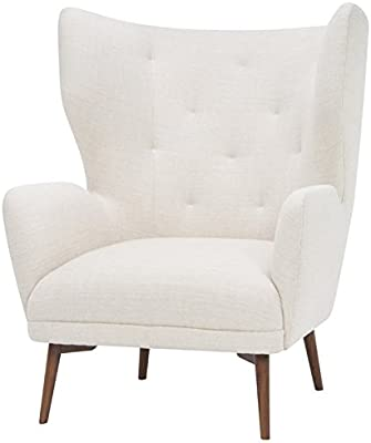 Amazon Com Best Selling Tufted Fabric Club Chair Kitchen