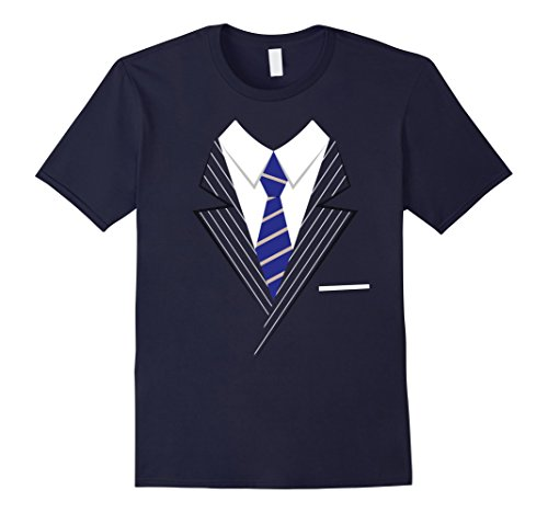 Mens Suited Pinstripe Suit Halloween Costume Tshirt T-Shirt XL (Awesome Family Halloween Costumes)