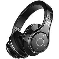 Bluedio U (UFO) Premium High End Wireless Bluetooth Headphones with Mic (Pure Black)
