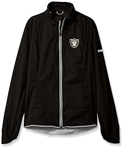 NFLレディースBatter軽量フルZipジャケット XL ブラック