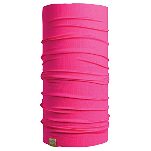 Turtle Fur UV Totally Tubular, Multifunctional Headwear Tube and Face Mask, Hot Pink