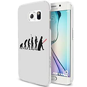 Ape to Jedi Smartphone Samsung Galaxy S6 Case Cover Collector White Hard Cases by mcsharks