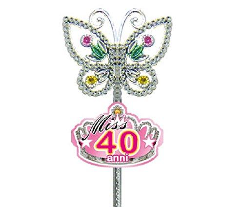 dor SCETTRO MISS 40 ANNI idea regalo gadget per 40° compleanno