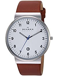 Men's SKW6082 Ancher Saddle Leather Watch
