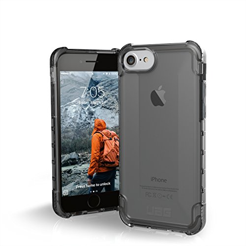 UAG iPhone 8 / iPhone 7 / iPhone 6s [4.7-inch screen] Plyo Feather-Light Rugged [ASH] Military Drop Tested iPhone Case