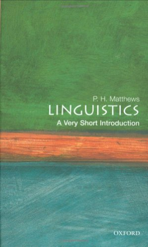 Very Short Introductions: Linguistics