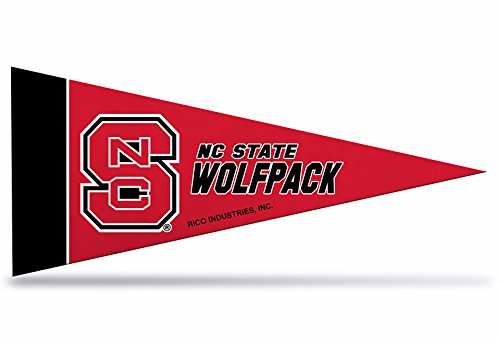 Rico NCAA North Carolina State Nc State 8 Pc Mini Pennant Pack Sports Fan Home Decor, Multicolor, One Size by Rico
