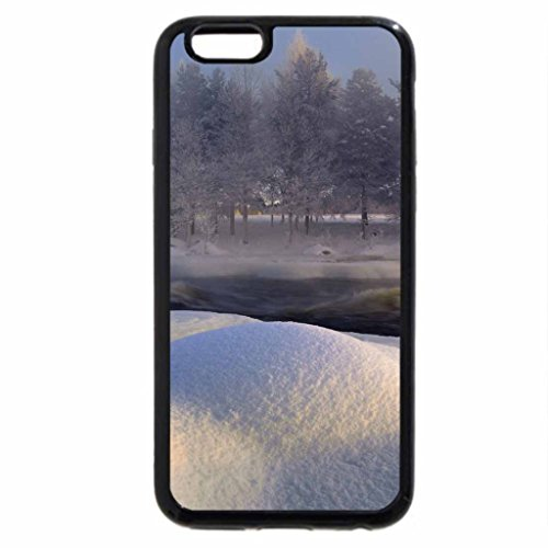 iPhone 6S / iPhone 6 Case (Black) Beautiful winter in Sweden
