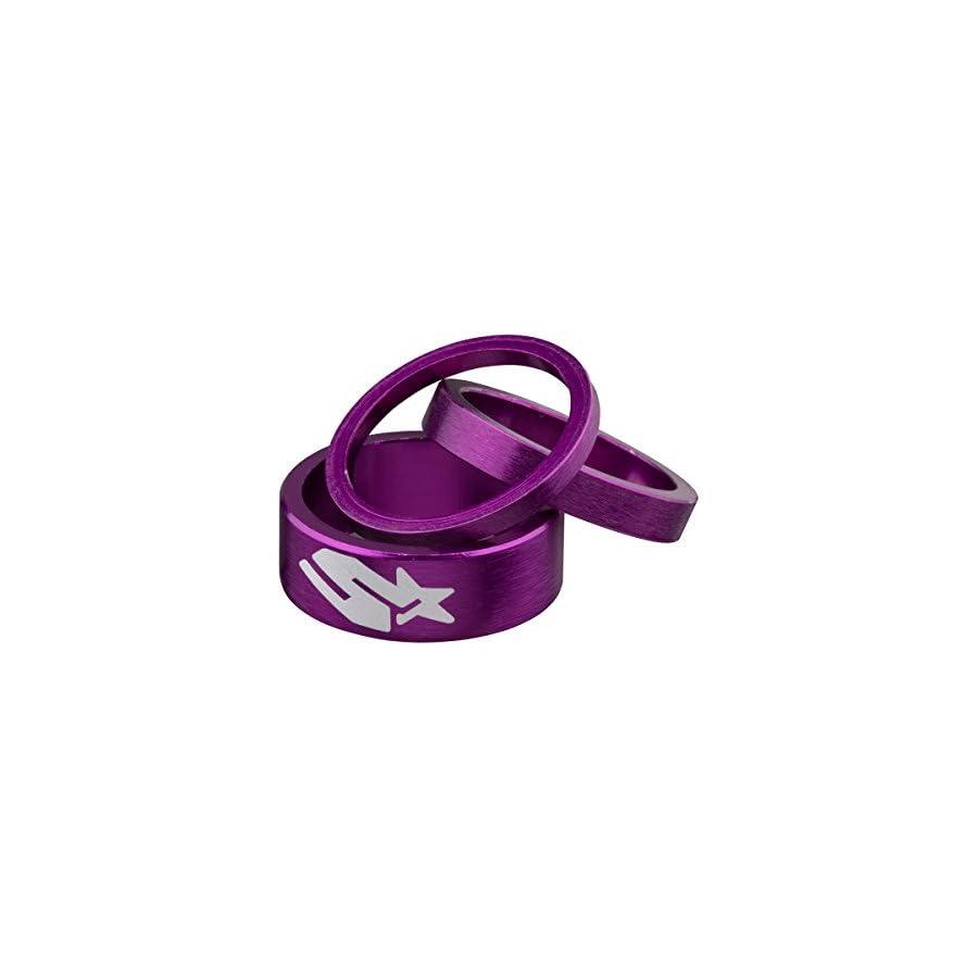 Spank Bicycle Headset Spacer Kit 3/6/12mm B09TWE2A30