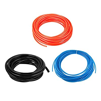 uxcell Pneumatic Air PU Hose Pipe Tube Group