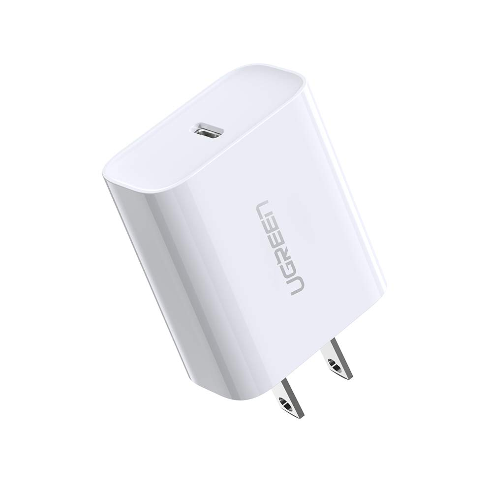 UGREEN USB C Charger 18W PD 3.0 Type C Wall Charger Power Delivery for iPhone 11 Pro Max Xs Max XR X 8 Plus, iPad Pro, Google Pixel 3a XL, Samsung ...