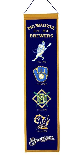 MLB Milwaukee Brewers Heritage Banner