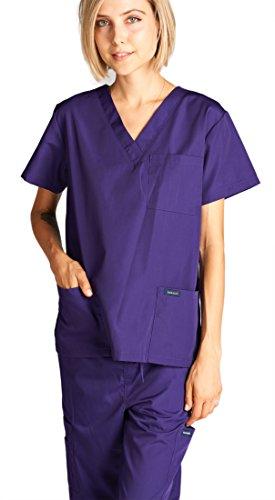 Dagacci Scrubs Medical Uniform Women And Man Scrubs Set