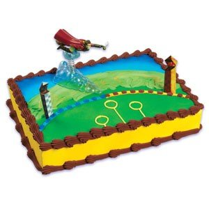 Bakery Crafts Harry Potter Quidditch Cake Topper Set Amazonca Home Kitchen