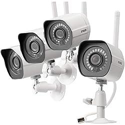 Cámara de seguridad exterior inalámbrica Zmodo - 1 mes de grabación en la nube gratis
