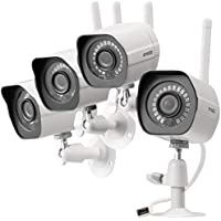 Zmodo Wireless Security Camera System (4 Pack) , Smart...