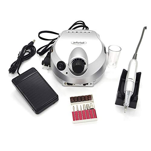Professional 35,000rpm Electric Nail Drill File Manicure Pedicure Machine for Nails Art Silver
