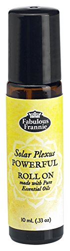 Solar Plexus Chakra - 3rd Chakra Solar Plexus Powerful Pre-diluted ROLL ON made with Pure Essential Oils .33oz (10ml)