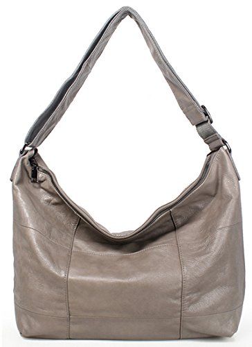 bag Body Vintage Light Iswee Shoulder Satchel Capacity Large Cross Gray Women Handbag Big Bag q78zvZfwq