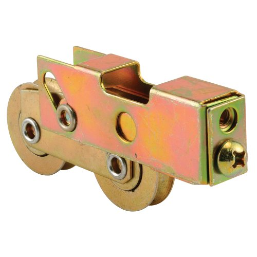 Prime-Line Products D 1989 Sliding Door Tandem Roller Assembly, 1-1/2-Inch Steel Ball Bearing, Low