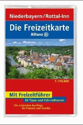 Die Freizeitkarte Allianz, Bl.65, Niederbayern, Rottal-Inn