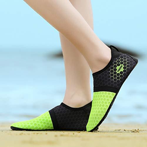 Dry Acquascivolo Verde Coulisse Profondo Beach Per Shoes Summer Scarpa Da Aqua Innerternet Con Quick Couple Water Swim Scollo Immersione q6TxwvRU