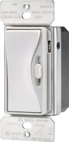 Eaton 9543WS ASPIRE Fully Variable Fan Control, White Satin