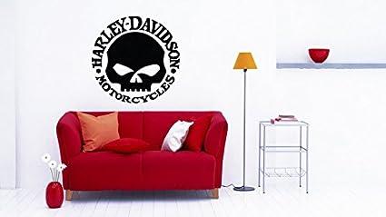 Harley Davidson 002 Sticker Vinyl Decal Wall Decor Wall Room Garage Original Unique Art Decal Sticker  sc 1 st  Amazon.com & Amazon.com: Harley Davidson 002 Sticker Vinyl Decal Wall Decor Wall ...