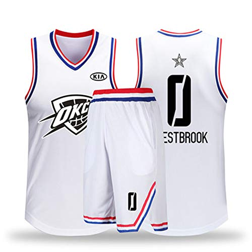 (Men's All-Star Basketball Jersey, Short Sleeve Officially Licensed Team,Reversible Workout Jersey, Basketball Top for Men and Boys,Professional Basketball uniform-0-XXL)