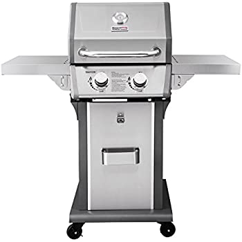 RoyalGourmet 2-Burner Patio Propane Gas Grill (Stainless Steel)