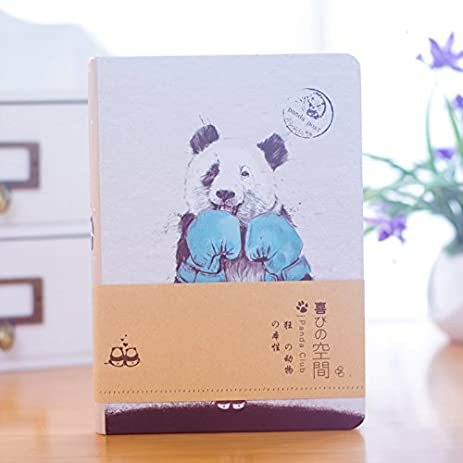 amazon com ilovepandas panda cover notebook 112 pages with lovely