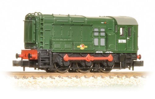 371-021A Graham Farish N - Class 08 D3785 in BR green with late crest by Graham Farish