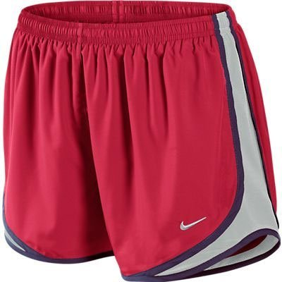 d29aad4c4dc04 Amazon.com  Nike Tempo Women s Running Shorts - Hyper Red Grey-M  Sports    Outdoors