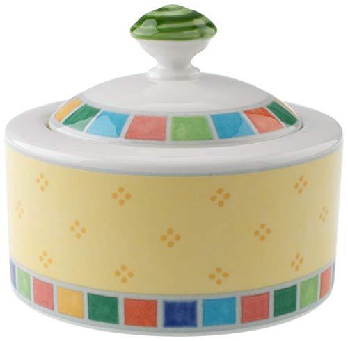 Villeroy & Boch Twist Alea Limone Covered Sugar Bowl