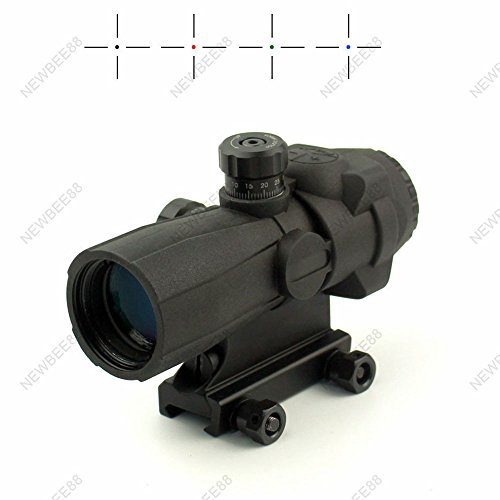 141-4x32 Barska Optic Heavy Duty Long Range Hunting Gun Accessory Rifle Scope by Phantom scope