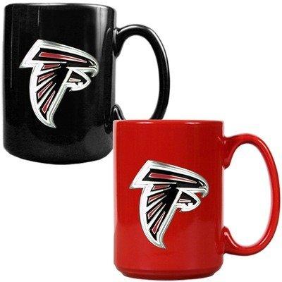 Atlanta Falcons Ceramic (NFL Atlanta Falcons Two Piece Ceramic Mug Set - Primary)