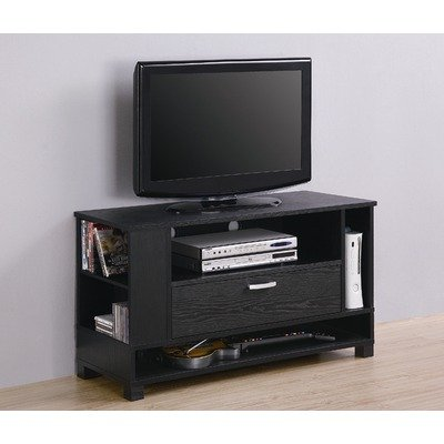 Walker Edison 44-inch Wood Gaming Tv Stand Console Black from Walker Edison