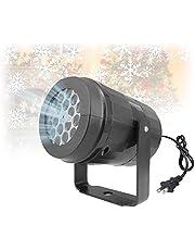Kerst Sneeuwvlok Projector Verlichting, Sneeuwval LED Licht Projector Waterdicht Landschap Verlichting voor Patio Tuin Xmas Holiday Wedding Party