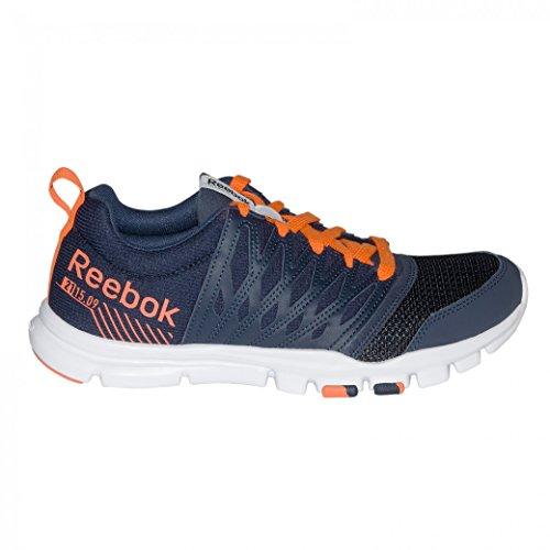 Reebok - Yourflex Train RS 50 - Color: Arancione-Blu marino - Size: 42.0